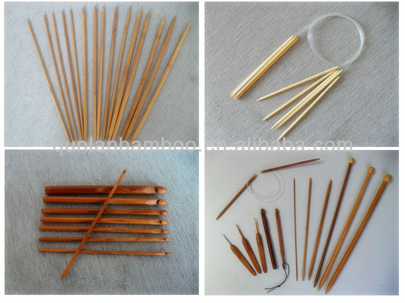 [Factory Direct Sales]Wooden colorful Knitting Needles,Multicoloured needles,unique knitting needles