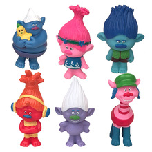 New arrival custom 6cm action figure Trolls doll troll figurines