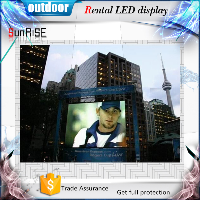 china hot sex led video screen for outdoor rental usage led rental sign outdoor advertising led display screen