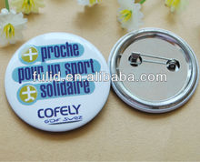 58mm Dia cheap custom badge