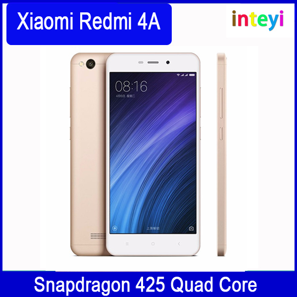 Original Xiaomi Mi Redmi 4A Mobile Phone Snapdragon 425 Quad Core 2GB RAM 16GB ROM