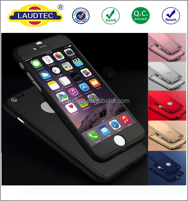 2016 For Apple iPhone 7 Case Armor Hybrid Silicon PC Back Cover 360 Degree Rotation Phone Cases For Apple iPhone 7