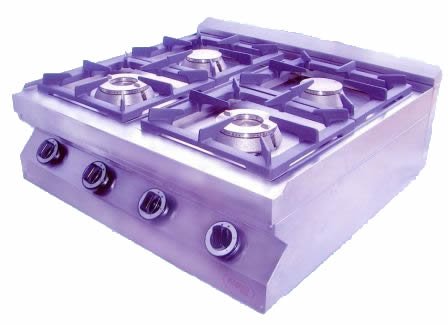 Gas Cooker 2, 4 & 6 Burner