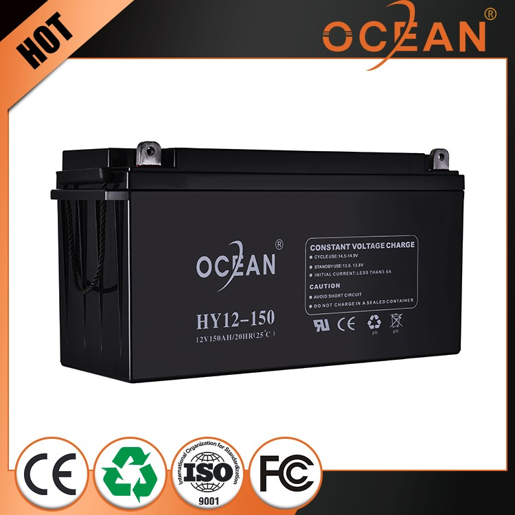Good selling competitive price latest 12V 150ah dry cell battery ups
