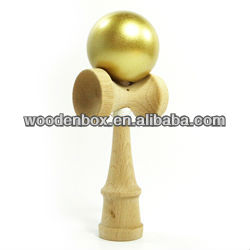 Japanese traditional wooden kendama toy for wholesale