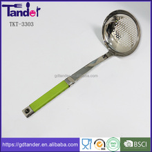Tander stainless steel handle plastic products home kitchen cooking tools utensils set