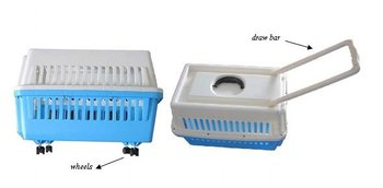 Portable Pet Dog Cat Cage