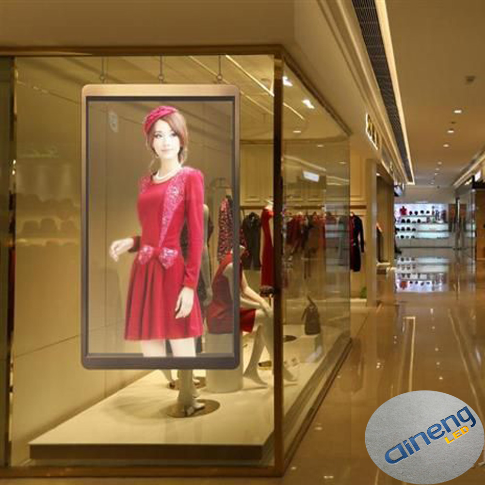 Full Color SMD Transparent LED Curtain Display Screen for Window advertising screen, glass curtain wall display screen