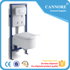 P-trap washdown toilet wall hung water closet ceramic wc toilet