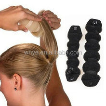 Hot sale magic DIY tool Sponge Hair Bun