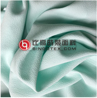 100%polyester ITY crepe bubble two way stretch chiffon fabric