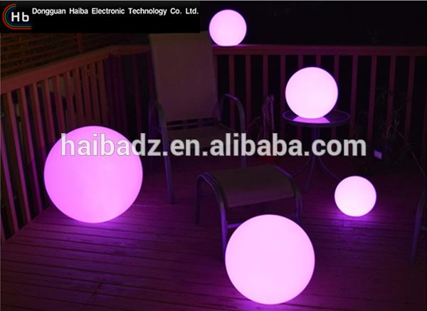 Rechargeable Illuminated party balls lights From China