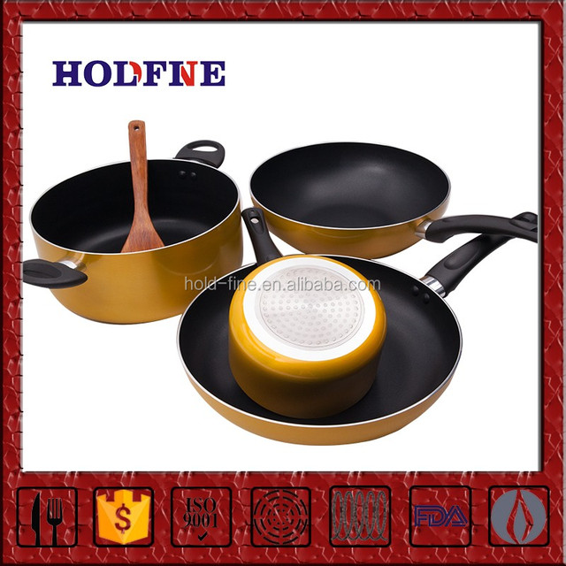 Manufacturing Directly Sale Multifunction set of wok pan and casserole stainless steel tri ply