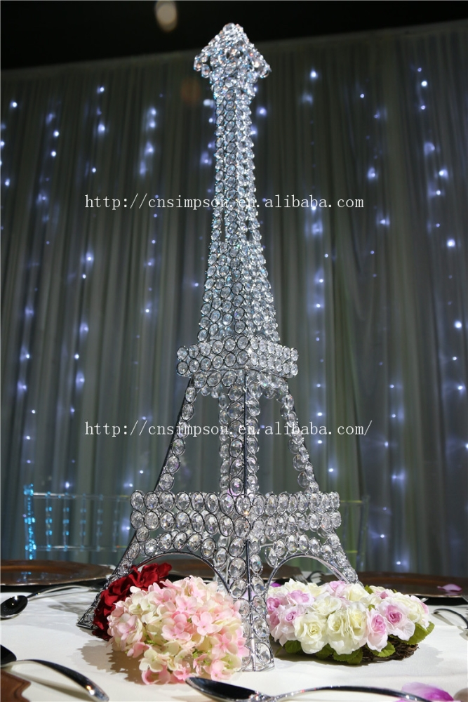 Eiffel Tower Centerpieces for wedding <strong>decoration</strong>