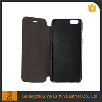 China manufacturer wholesale free sample mobile accessories PU leather cell phone case for iphone 6 6s 7 plus cover
