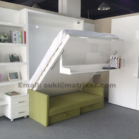 Solid Murphy Bed in Transformable Furniture,Hidden Muphy Bed,Wall Bed