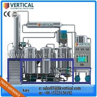 VTS-PP Vertical PLC Control Cooking Oil Filtration System