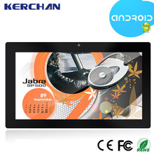 Commercial 10inch led display android tablet