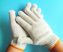 Brand MHR [Gold Supplier] HOT ! Disposable Cotton Gloves For Handicap