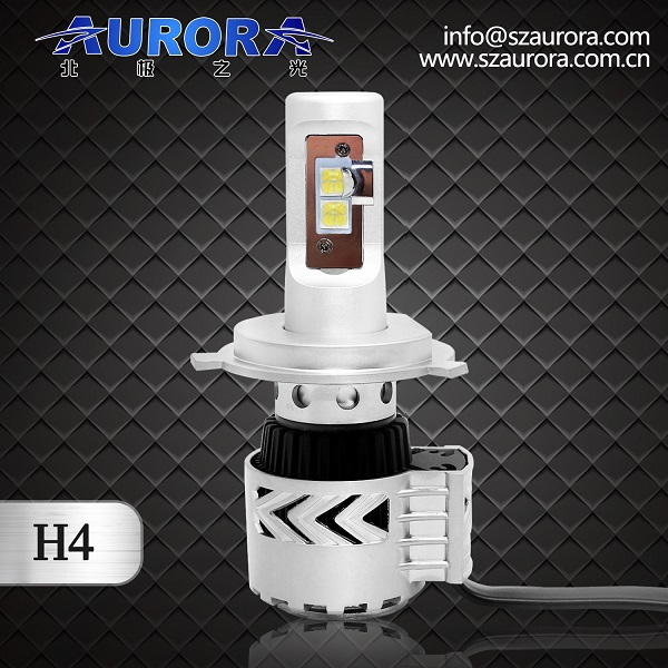 Hot! G8 series 12v 6000LM super bright H4 led headlights