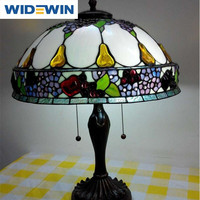 Tiffany Table Lamps Light Base Fixture Mediterranean Sea Style Bedroom Decor table lamp WW-YLM002 Table Lamp