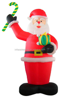 pvc inflatable Christmas cartoon characters