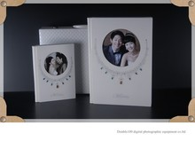 China wholesale digital crystal wedding album covers design with case