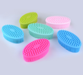 Amazon top sale human body wash brush silicone body brush