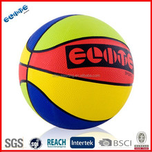 Colorful and lovely college basketball size ball