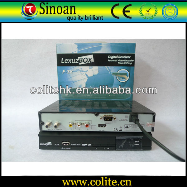 Brazil Cable Receiver Lexuzbox F38 ,Brasil Cable SD Receiver/Original