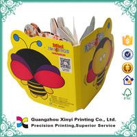 Colorful fashion design customized easy english grammar book printing children board book