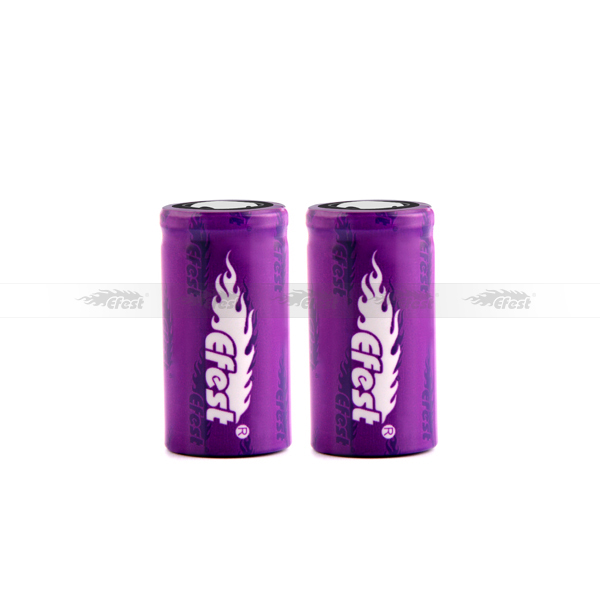High quality 18350 efest purple battery 10.5A 18350 IMR battery 700mah efest 18350 rechargable battery