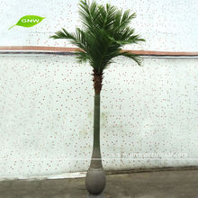 GNW 10ft High Outdoor artificial tree tissue culture date palm for Park Landscaping Decoration
