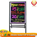 Hot sale Advertising tool 2016 new products A Stand LED writing board shining in the dark night
