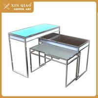 Good after-sales service steel folding dining table