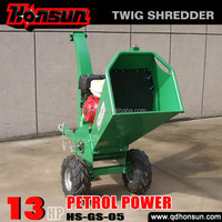 2014 the most cost-effective of Qingdao Honsun cutting tool mini small log chipper