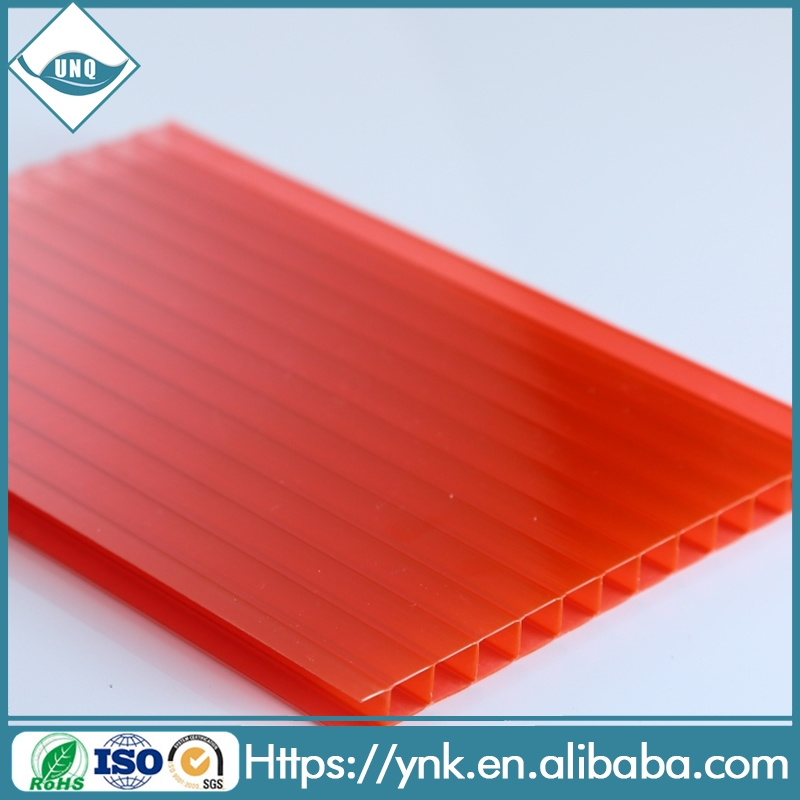uv coating anti fog roofing material pc hollow sheet on sale