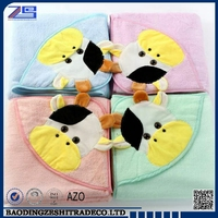 Baby Bath Towel / Baby Hooded Towel Bathrobe / Children Big Towel For Bath with manufacturer