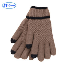 20pairs WHOLE SALE winter thick warm Fashionable Wool Touch Screen Gloves