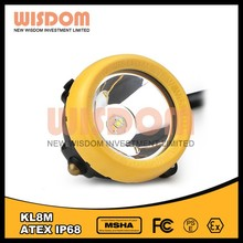WISDOM 25000 lux miners lamps for sale, mining helmet light