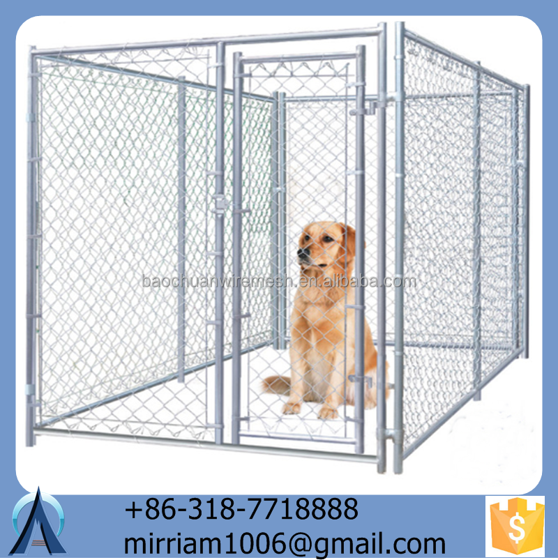 2015 popular hot sale Large Outdoor beautiful Modular Dog Kennel
