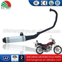 Flexible Exhaust Pipe Muffler Motorcycle Factories Spare Parts China GSR-125CC