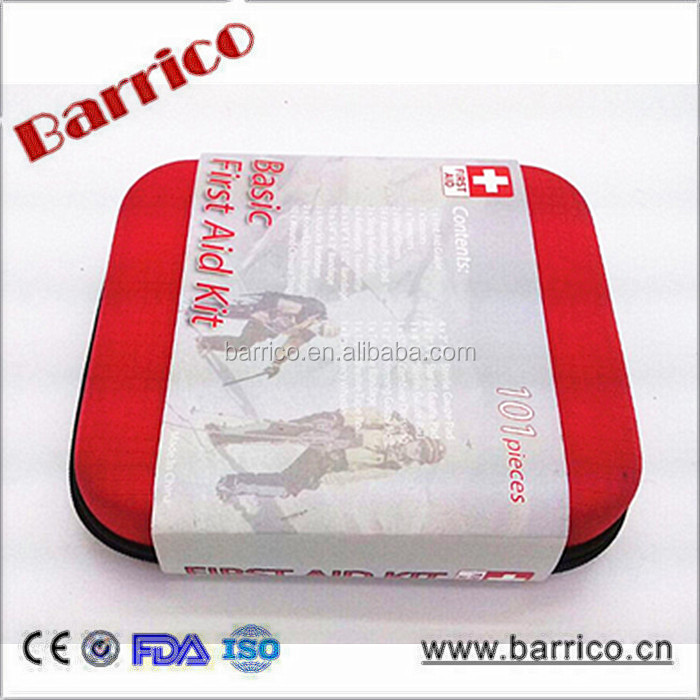 Trip basic EVA first aid kit / Fish Survival medical case BLG-63 CE/FDA