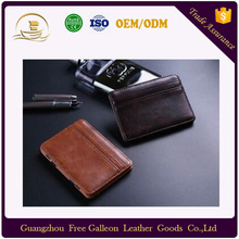 Ebay Aliexpress Amazon best-selling magic money clip pu leather <strong>wallet</strong> for wholesale