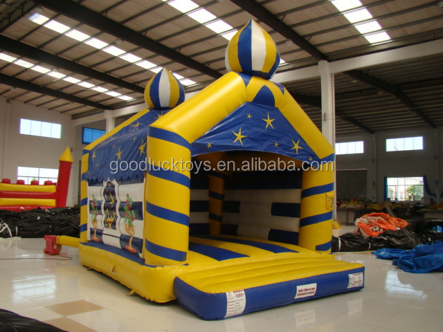 2016 Giant Event Inflatable Bouncy Castle Chalk clown,popular clown inflatable bouncy castle