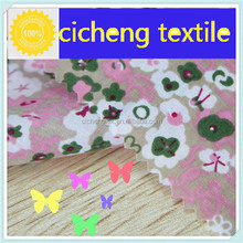 100% Cotton with print poplin great quality make in china shaoxing