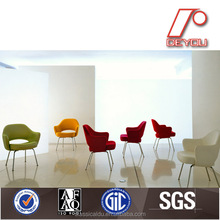 upholstered dining chairs with arms, colorful dining chair, modern fabric dining chair DU-1002T