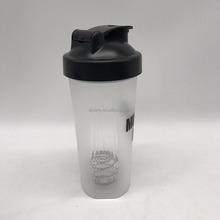 china wholesale water bottle 750ml plastic shaker shaker cup