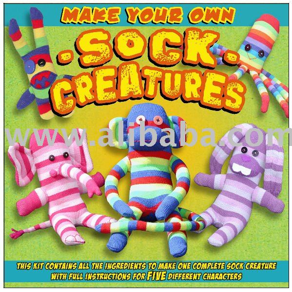 sock creature kit 5 in 1