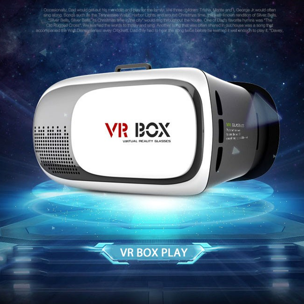 high-grade VR BOX with Bluetooth Handle 3D Glasses 3d glasses/3d virtual reality helmet <strong>video</strong>